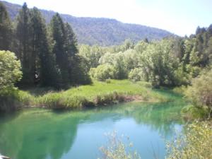 Rio Tajo en Salto de Poveda